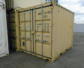 ten foot sea container