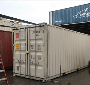30 ft sea container mod