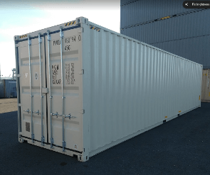 One trip 40ft sea container