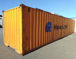 Used 40ft sea container
