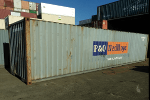 WWT 40ft sea container