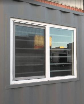 sea container windows