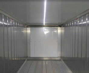 refrigerated sea container solar lights