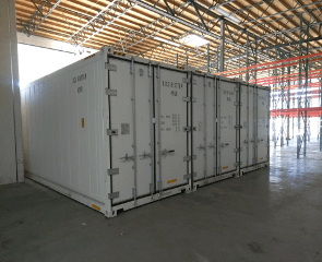 refrigerated sea containers