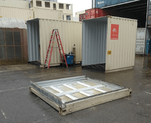 Custom length sea container