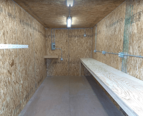 sea container insulation brake room