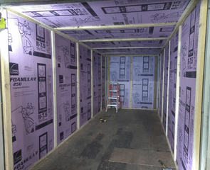 sea container insulation