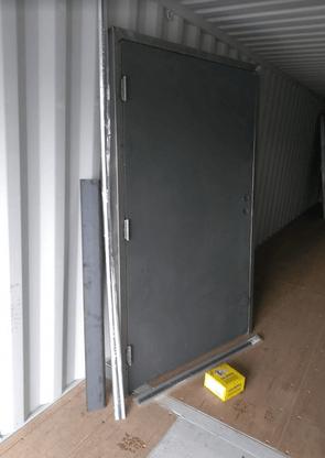 sea container weld and go man door