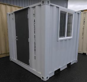 Sea container man door | Weld and go man door kit installation