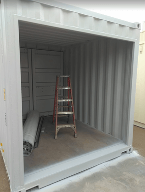 Sea Container Roll Up Door Frame Paint