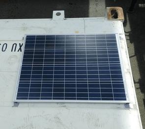 sea container solar panel