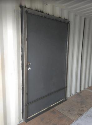 weld and go man door