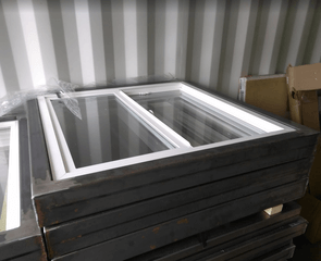 sea container window kit