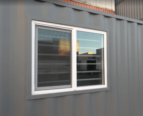 sea container window